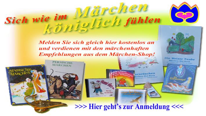 Anmeldung Affiliate Programm Märchenshop