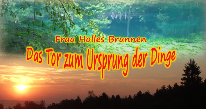 Frau Holle Brunnen