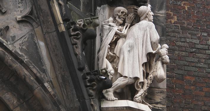 Angst und Urvertrauen: Die Geschichte vom Tod und dem Gelehrten