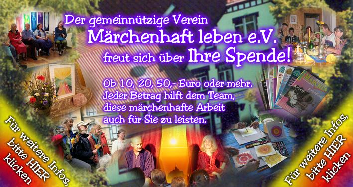 Verein Märchenhaft leben e.V. - Die Last der Fülle: Gedanken wirken