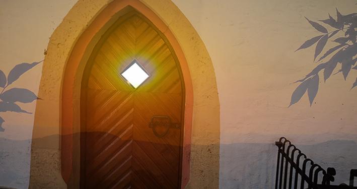 Die verschlossene Türe