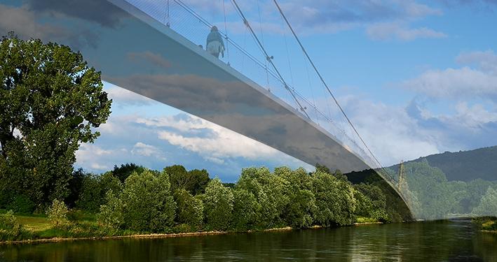 Brücke diesseits und jenseits