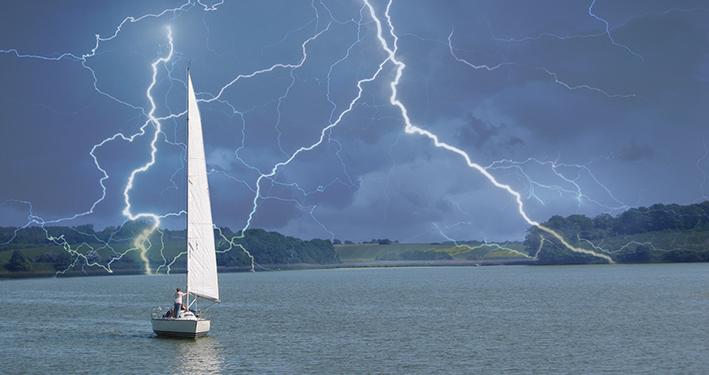 Die Macht der Angst: Drei Männer in einem Boot - eine Geschichte